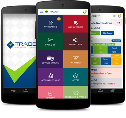 Mobile Application Screen Shots-TradeIt